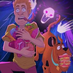 Shaggy Scooby Doo, Scooby Doo Mystery Inc, Hanna Barbera, Horror Movies, Disney Characters, Fictional Characters, Disney Princess, Classic, Artwork