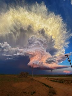 Early May 2021 - photo captured by storm chaser in Texas. Supercell Thunderstorm, Thunderstorms, Tornados, West Texas, Texas Usa, Bob Dylan Poster, Texas Storm, Texas Sunset, Colossal Art