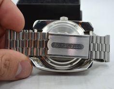 Vintage Favre Leuba Bathy 160 Aqua Lung U s Divers 53253 Steel Orange Watch | eBay