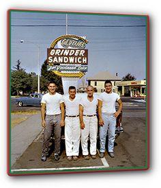 D'Elia's Grinders - best Italian grinder sandwich in Riverside. Ontario California, Riverside California, Riverside County, Vintage California, California Travel, Southern California, Roadside Attractions, I Remember When, Ol Days