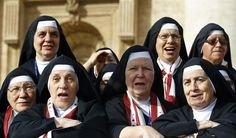 The American nuns who announced their support for contraception. | 18 Badass Women You Probably Didn't Hear About In 2014