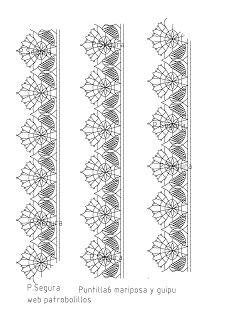 Patrobolillos : PICADOS PUNTILLAS Bobbin Lacemaking, Bobbin Lace Patterns, Lace Heart, Crochet Borders, Lace Jewelry, Lace Making, Pattern Books, Quilt Blocks, Lace Detail