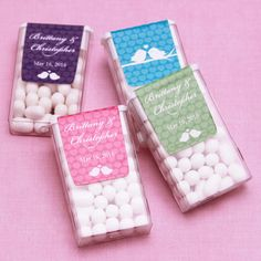 Love Birds Personalized Tic Tacs Favors!! So cute!! Candy Wedding Favors, Homemade Wedding Favors, Best Wedding Favors, Wedding Gifts, Diy Wedding, Wedding Bells, Dream Wedding, Wedding Stuff, Cute Wedding Ideas