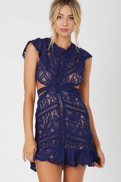 Sweet Doily Crochet Dress