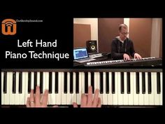 """The Magic Of Left-Hand Walkups In 3/4 Time (Piano Lesson Using """"Amazing Grace"""") - YouTube"""