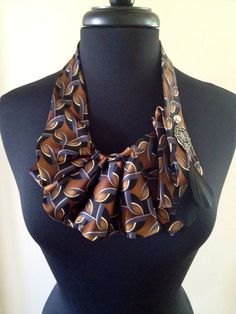 Tie necklace  by ScarlettKaysedy on Etsy