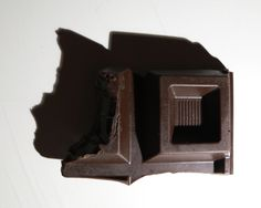 Brooch - BITE CHOCOLATE  by Mira Podmanicka, material plastic