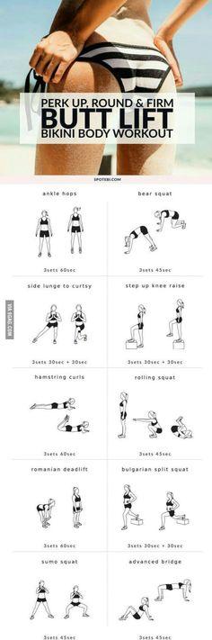 Summer butt workout...
