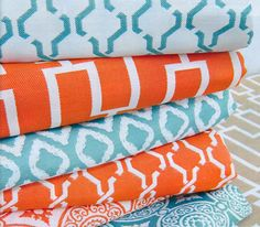 Google Image Result for http://newportcoastinteriordesign.com/wp-content/uploads/2012/05/Orange-Turquoise-Fabrics.jpg