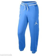 a065d1eebba831 NWT Nike JORDAN The Varsity Cuffed Sweatpants Light Game Royal Blue Size  2XL XXL