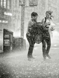 I do so love rain photos Rain Photography, Street Photography, Beauty Photography, Artistic Photography, Happy People Photography, I Love Rain, Rain Dance, Parasols, Umbrellas