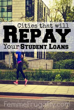 Check out these cities that will repay your student loans just for moving there.