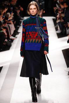 Sacai fashion collection, autumn/winter 2014