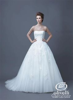 The Enzoani collection introduces the Hadil dress. A beautiful traditional ball gown. Absolutely... pinned with Pinvolve