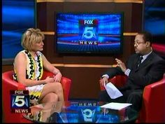 Client Caroline Miller, Author of Creating Your Best Life on Fox DC 5
