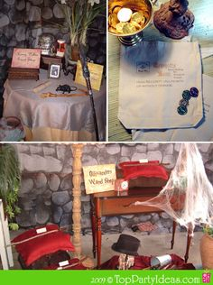 harry potter party theme. Lots of ideas for decorations & games.  Could do a don't break the dragons-egg game; freeze tag or freeze dance