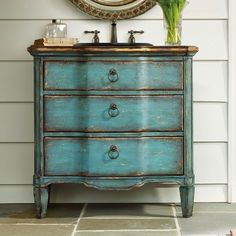 using old chests for bathroom sinks - Google Search