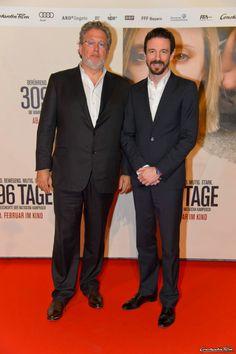 3096 TAGE - Weltpremiere in Wien am 25.2.2013  Produzent Martin Moszkowicz mit Oliver Berben