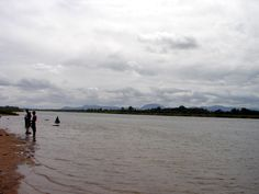 The broad expanse of the Cauvery River at Talakad.