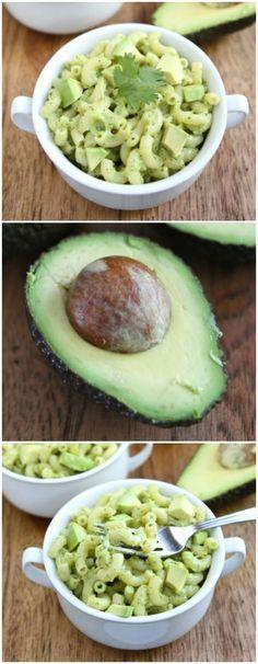 Stovetop Avocado Mac and Cheese #avocado #macandcheese #recipe