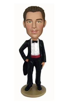 Imagine the look on your groomsmen's faces when you give them a bobble head doll that looks like them.  Probably one of the funniest and best groomsmen gift ideas out there.