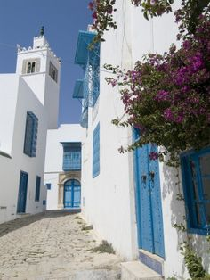 Sidi Bou Said, Tunisia, North Africa, Africa Photographie