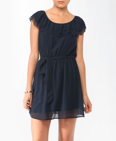 Scalloped Trim Dress | FOREVER21 - 2000044128