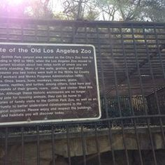 The old LA zoo in Griffith park. Los Angeles Zoo, Los Angeles Area, California Love, California Travel, Southern California, Beachwood Canyon, City Zoo, Griffith Park, Current Location