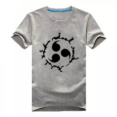 Onecos Naruto Logo Gray T-shirt Size XXL (Height 73in, Weight 170-185lbs) ** Be sure to check out this awesome product.
