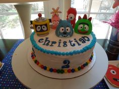 Yo Gabba Gabba and Rainbow Colors Birthday Party Ideas | Photo 16 of 28 | Catch My Party