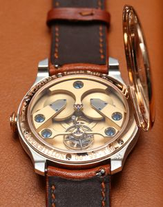 """F. P. Journe Anniversary Tourbillon Watch Hands-On by Ariel Adams - Today on aBlogtoWatch.com """"Last week, a rather good watchmaker claimed to me that Francois-Paul Journe is perhaps the greatest living watchmaker. I repeated this sentiment to Journe to get his opinion on the comment..."""""""