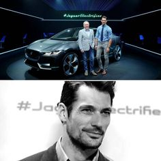 davidgandy_officialAnother couple of pics from the global launch of the @jaguar #ipace all electric car. Honoured to be on stage with legendary Jag designer @IanCallum #jaguarelectrifies #jaguar  Michael Tullberg