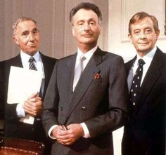 Yes, Minister and Yes, Prime Minister.... simply the best writing on TV!