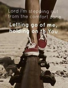 Letting go of me, holding onto you w/all of my heart.