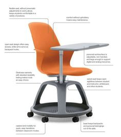 A glimpse into the future of the classroom: how the Steelcase node will change the way we teach / @brianmathews | The Ubiquitious Librarian | #CRAIspaces