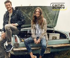 Feel the spring mood with Camel Active!