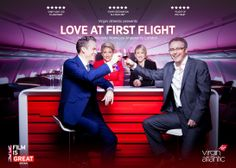 The Virgin Atlantic Love At First Flight photo shoot experience at The GREAT British Film Reception in LA.