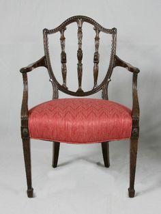 American Federal Centennial mahogany arm chair c1880