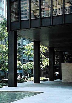 The Seagrams Building, Mies van der Rohe