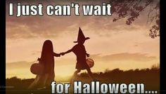 I just can't wait for Halloween....