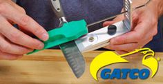 Guided Knife Sharpening System Angles by Blade Width