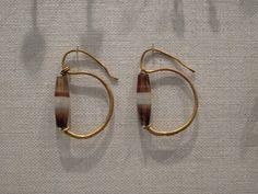 Metropolitan Museum of art, some ancient Roman, Etruscan, or Greek earrings.  I love this design!