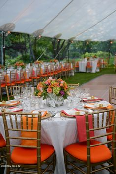 Color summer wedding in Sun Valley Idaho.  Wedding Planning and Floral Design by Taylor'd Events www.TaylordEventsSV.com