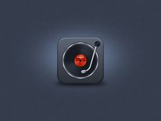 Turntable iOS Icon by Umar Irshad