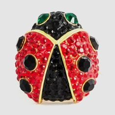Small Crystal Ladybird Brooch £28.00 Product Code: 75899