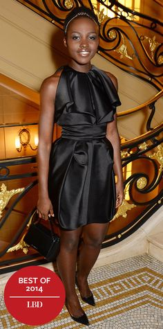 Look of the Day - December 24, 2014 - Lupita Nyong'o in Fitriani from #InStyle