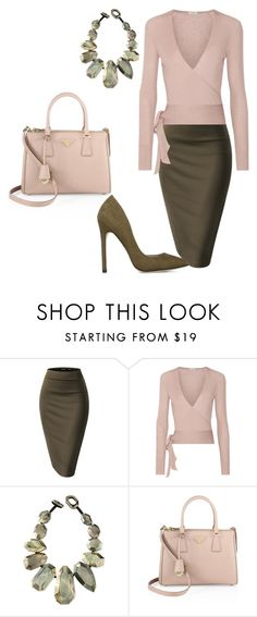 """Office Wear"" by arta13 ❤ liked on Polyvore featuring Etro, Viktoria Hayman and Prada"