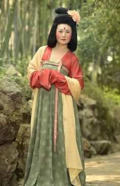 chinese dress - Tang Dynasty, China