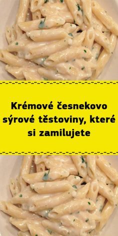 Pasta Recipes, Cooking Recipes, Healthy Recipes, Penne, Bon Appetit, A Table, Food And Drink, Pizza, Homemade