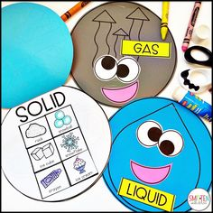 States of Matter activities for kindergarten, 1st grade, or 2nd grade